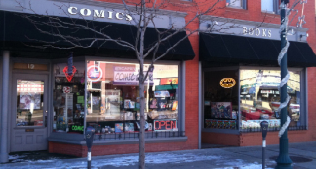 Escape Velocity Comics & Graphic Novels