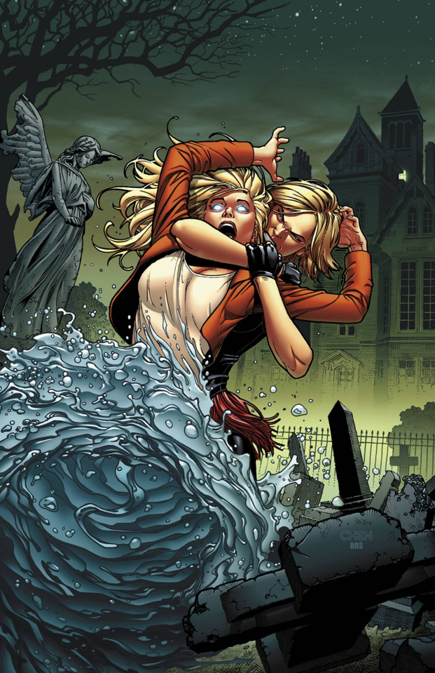 Grimm Fairy Tales #111 (Mad Hatter Chen Cover)
