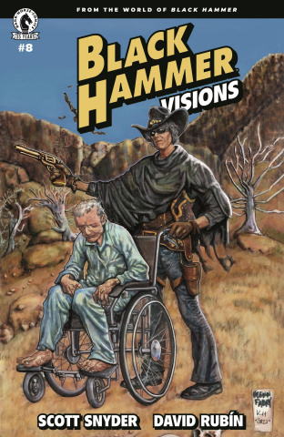 Black Hammer: Visions #8 (Fabry & Holloway Cover)
