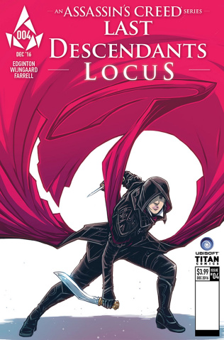 Assassin's Creed: Locus #4 (Wijngaard Cover)