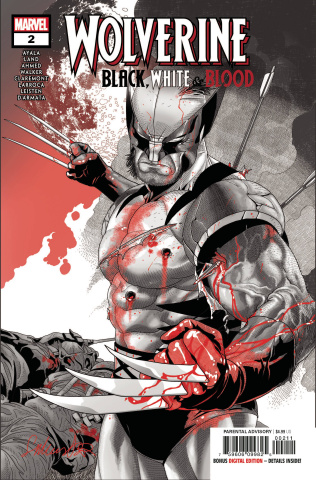 Wolverine: Black, White & Blood #2