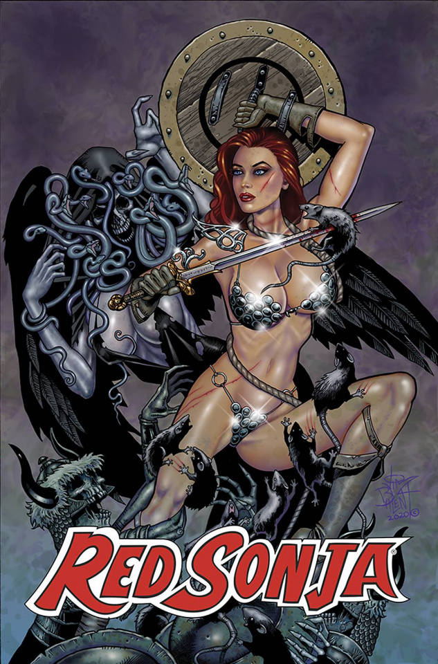 Jim Balent's Classic Red Sonja #4 (Reprint Virgin Cover)