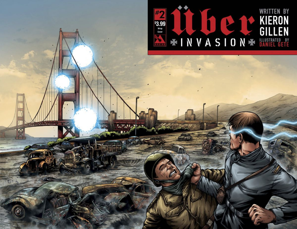 Über: Invasion #2 (Wrap Cover)