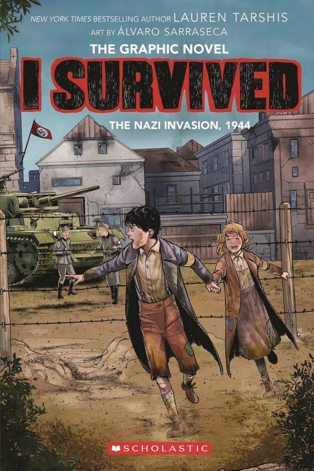 I Survived Vol. 3: The Nazi Invasion, 1944