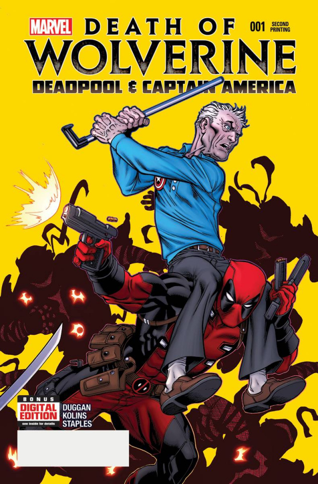 Death of Wolverine: Deadpool and Captain America #1 (2nd Printing)
