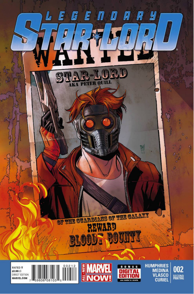Legendary Star-Lord #2 (2nd Printing)