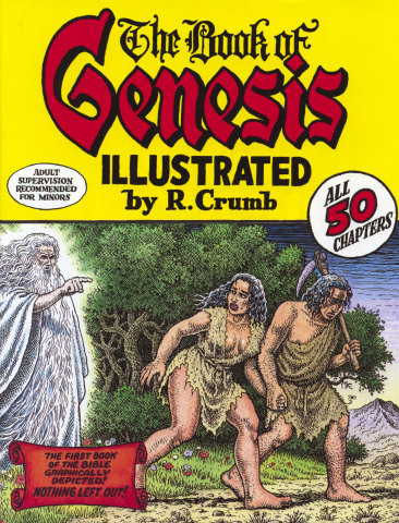 The Book of Genesis Illustrated By Robert Crumb