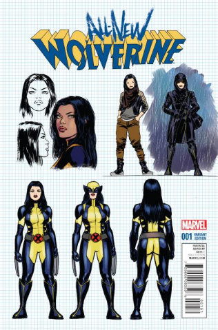 All-New Wolverine #1 (Lopez Design Cover)