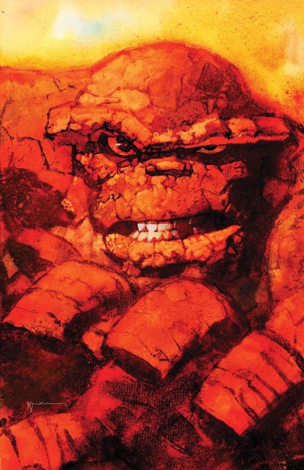 Fantastic Four #6 (Sienkiewicz Cover)