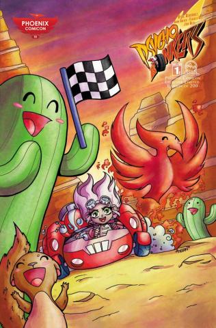 Psycho Bonkers #1 (Phoenix Comicon 2015 Cover)