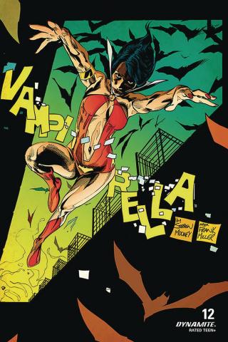 Vampirella #12 (7 Copy Mooney Homage Cover)
