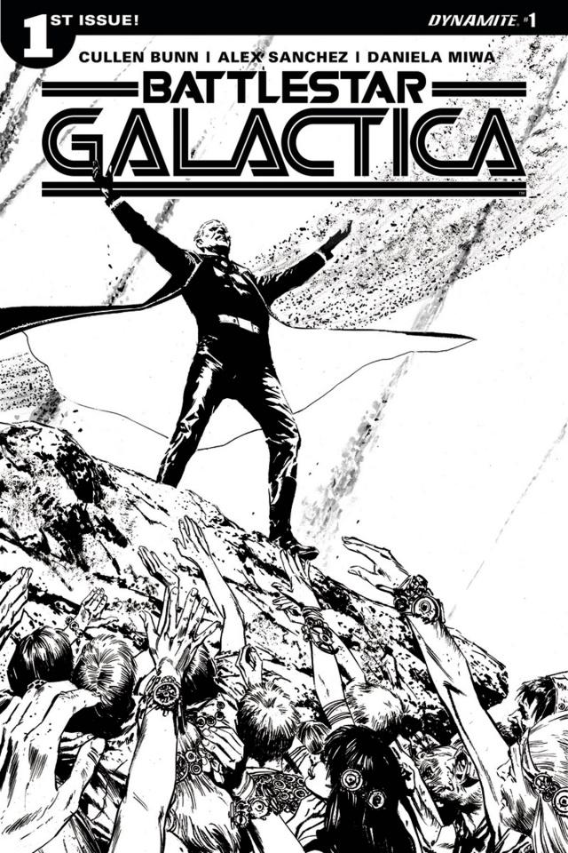 Battlestar Galactica #1 (20 Copy Guice Cover)