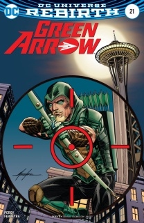 Green Arrow #21 (Variant Cover)