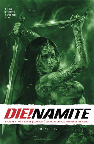 DIE!namite #4 (21 Copy Parrillo Tint Cover)