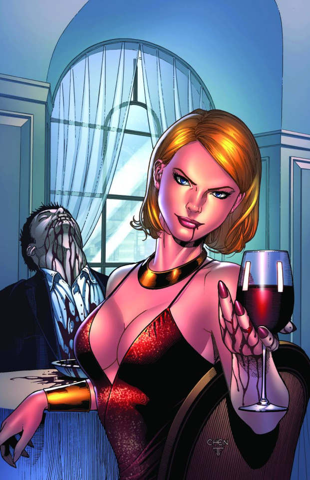 Grimm Fairy Tales Unleashed: Vampires - Eternal #2 (Chen Cover)