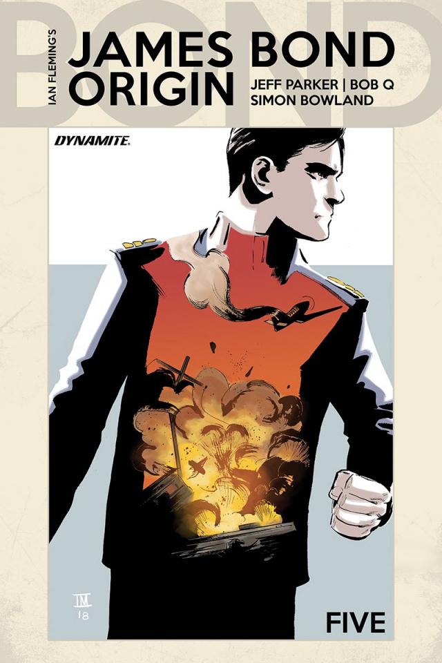 James Bond: Origin #5 (Moustafa Cover)