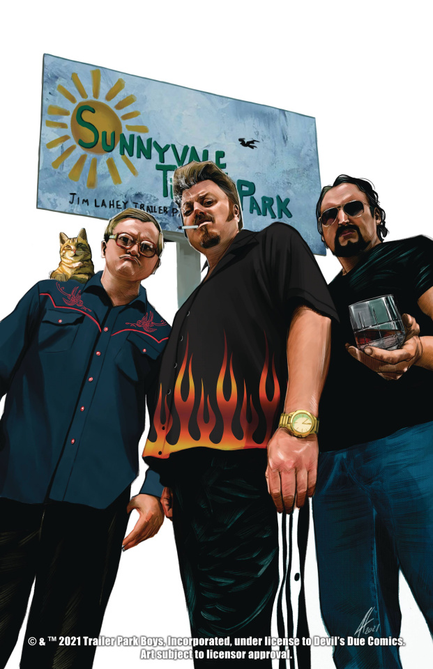 The Trailer Park Boys Get a F#Ing Comic Book #1 (50 Copy Cover)