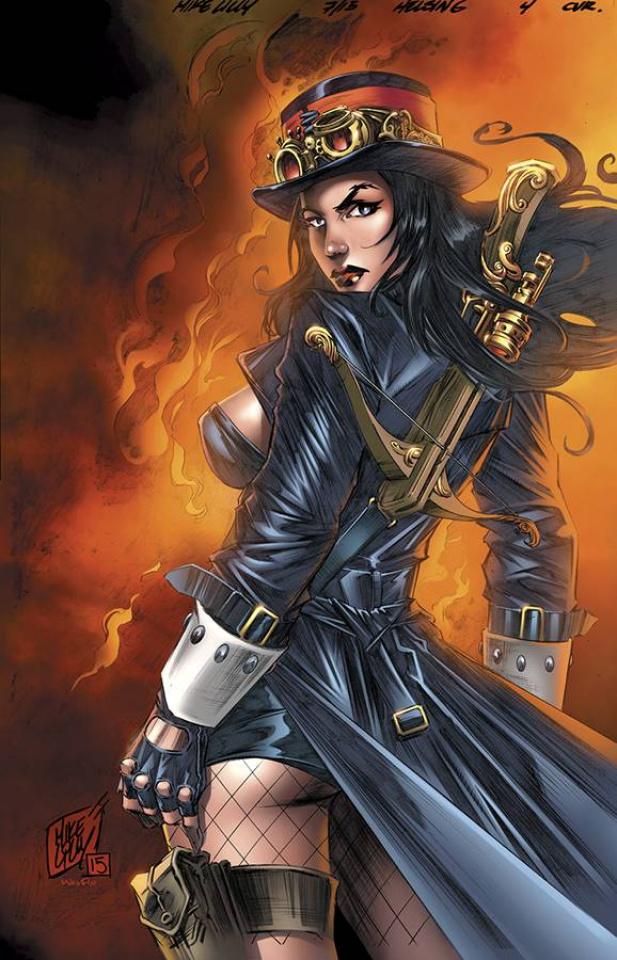 Grimm Fairy Tales: Van Helsing vs. Dracula #4 (Lilly Cover)