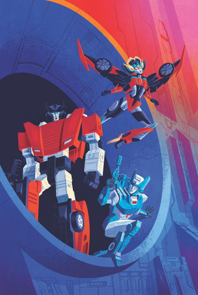The Transformers #11 (Caltsoudas Cover)