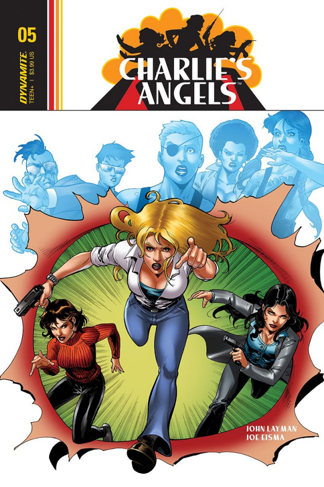 Charlie's Angels #5 (Cifuentes Cover)