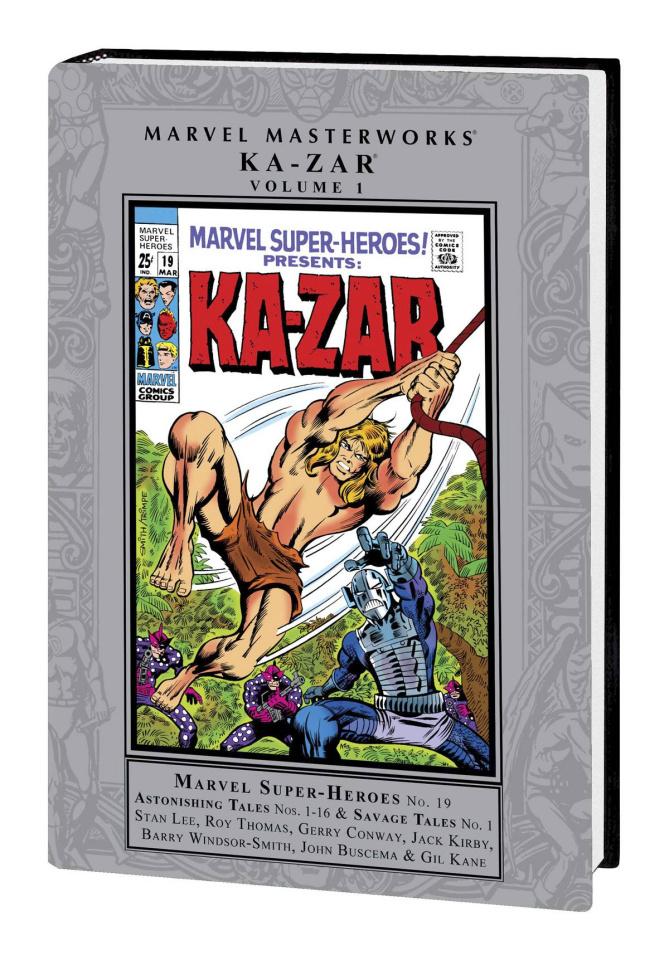 Ka-Zar Vol. 1 (Marvel Masterworks)