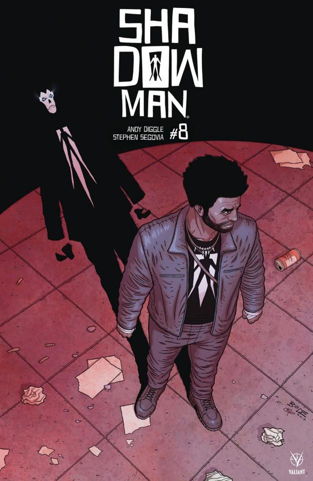 Shadowman #8 (Bodenheim Cover)