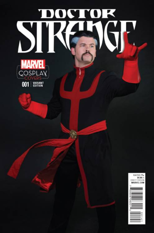 Doctor Strange #1 (Cosplay Cover)