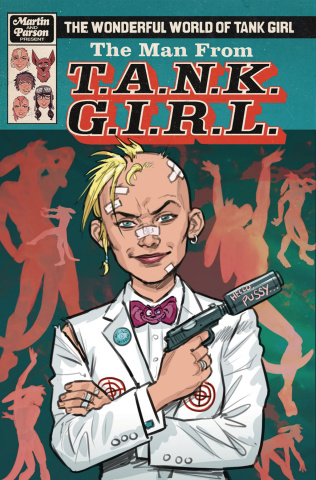 The Wonderful World of Tank Girl #3 (Wahl Cover)