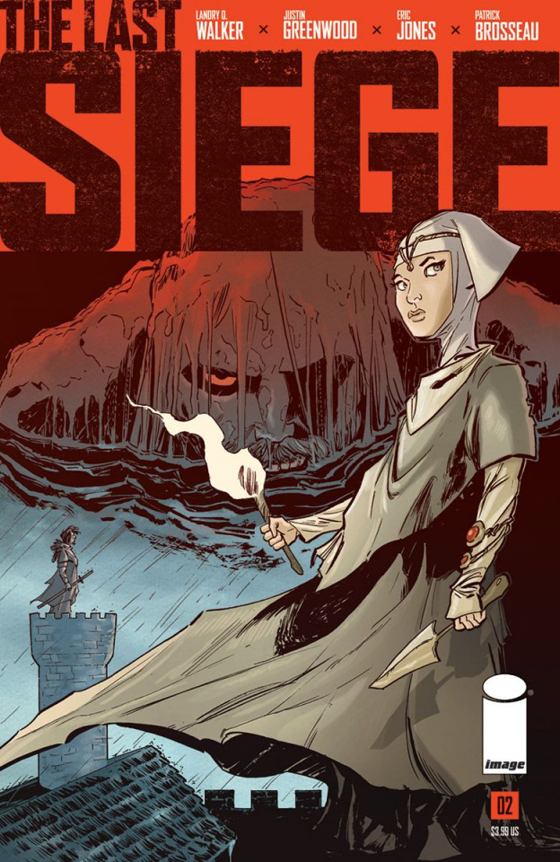 The Last Siege #2 (Greenwood Cover)