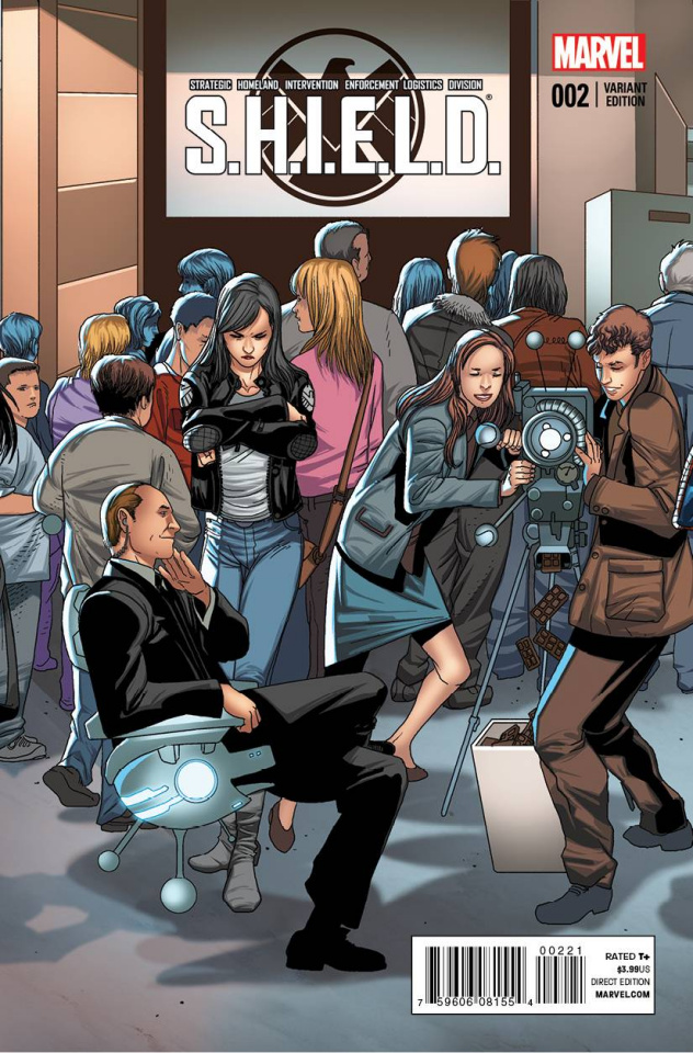 S.H.I.E.L.D. #2 (Larroca Welcome Home Cover)