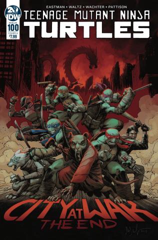 Teenage Mutant Ninja Turtles #100 (Wachter Cover)