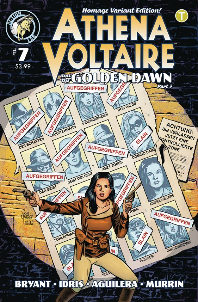 Athena Voltaire #7 (Millet Cover)