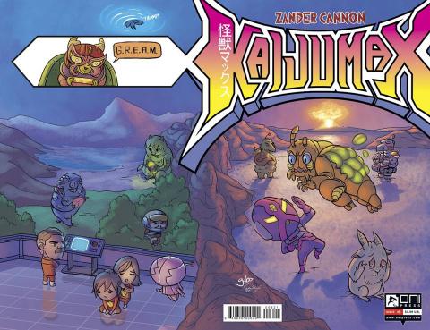 Kaijumax #6 (Gabo Cover)