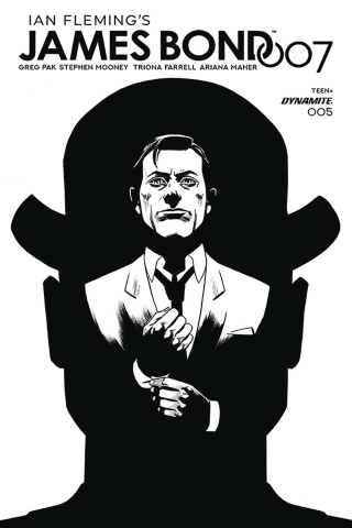 James Bond: 007 #5 (20 Copy Gorham B&W Cover)