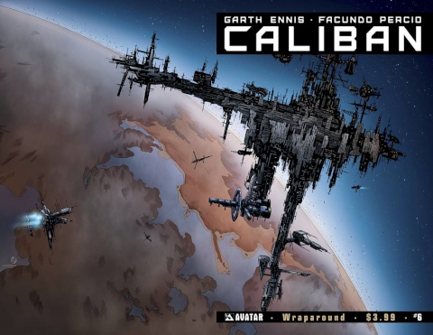 Caliban #6 (Wrap Cover)