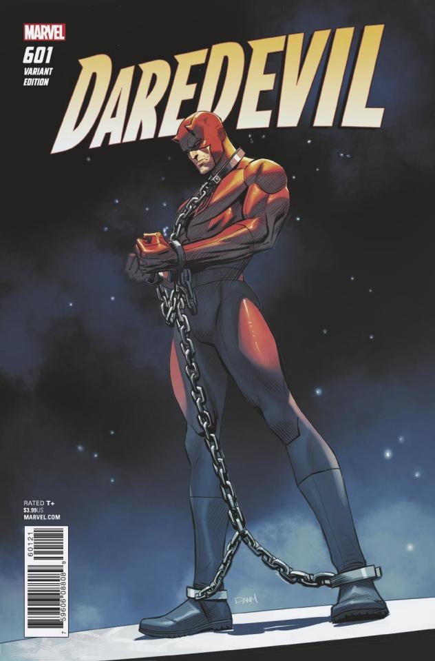 Daredevil #601 (Mora Cover)
