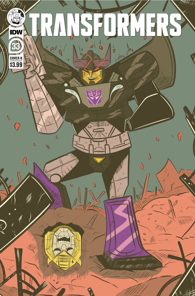 The Transformers #33 (Lane Lloyd Cover)