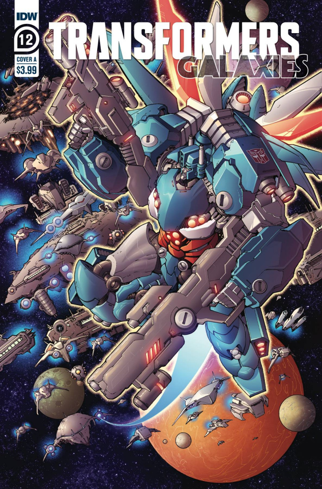 Transformers: Galaxies #12 (Griffith Cover)