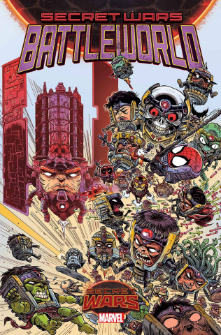 Secret Wars: Battleworld #1 (Stokoe Cover)