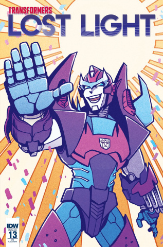 The Transformers: Lost Light #13 (Lawrence Cover)