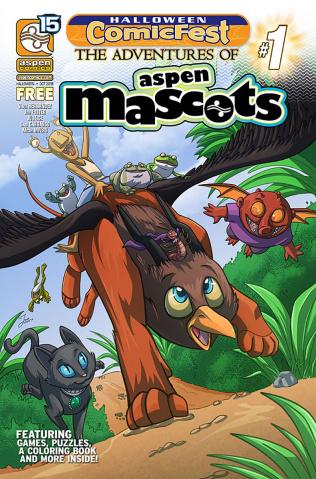 The Adventures of Aspen Mascots #1 (Halloween ComicFest 2018)