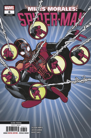 Miles Morales: Spider-Man #6 (Garron 2nd Printing)