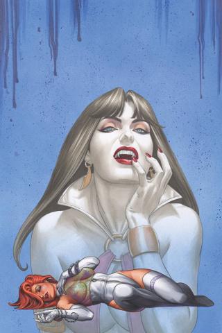 Dawn / Vampirella #5 (Rare Linsner Virgin Cover)