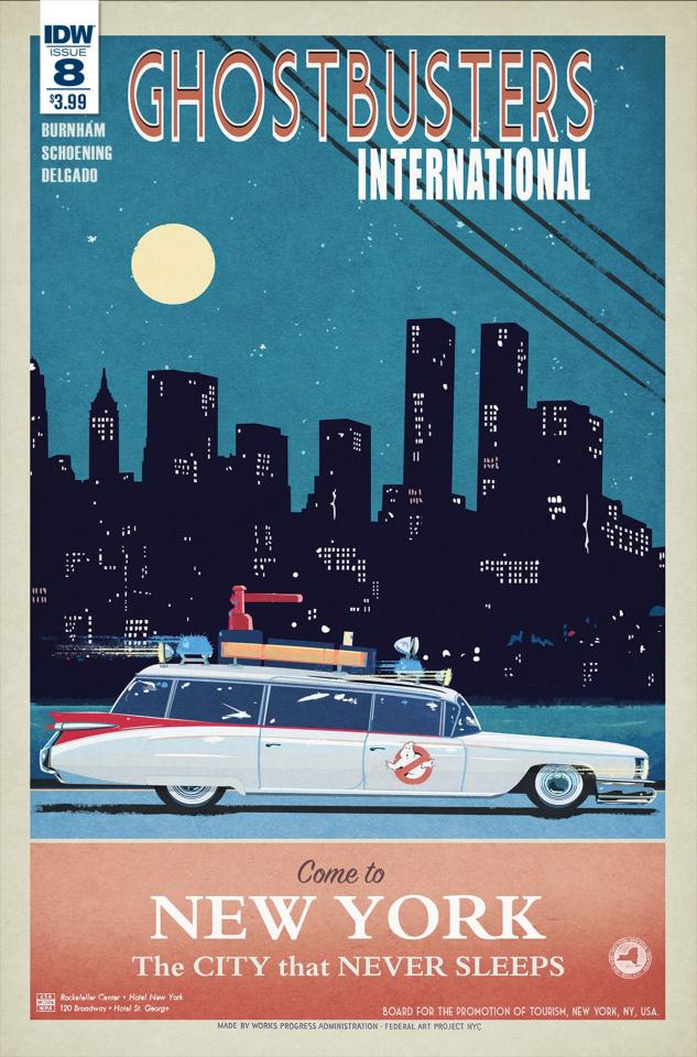 Ghostbusters International #9