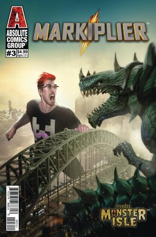 Markiplier #3 (Monster Isle Cover)