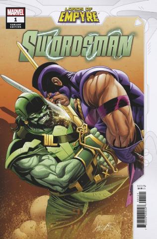 Lords of Empyre: Swordsman #1 (Larocca Cover)