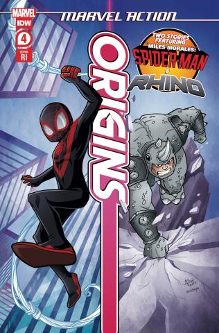 Marvel Action: Origins #4 (10 Copy Garbowska Cover)