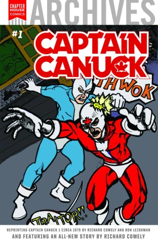 Chapter House Archives #1: Captain Canuck