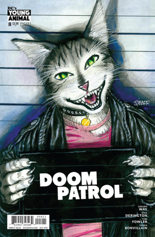 Doom Patrol #8 (Variant Cover)
