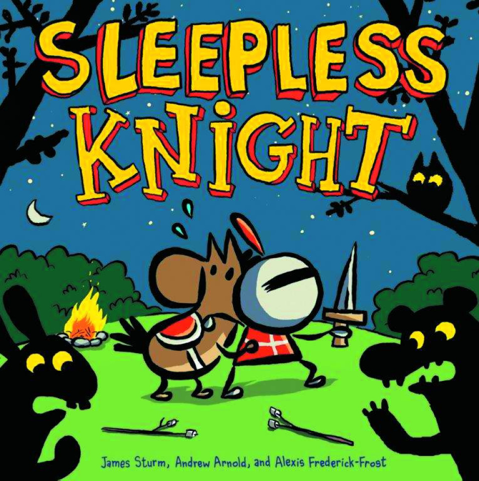 Sleepless Knight Picture Book